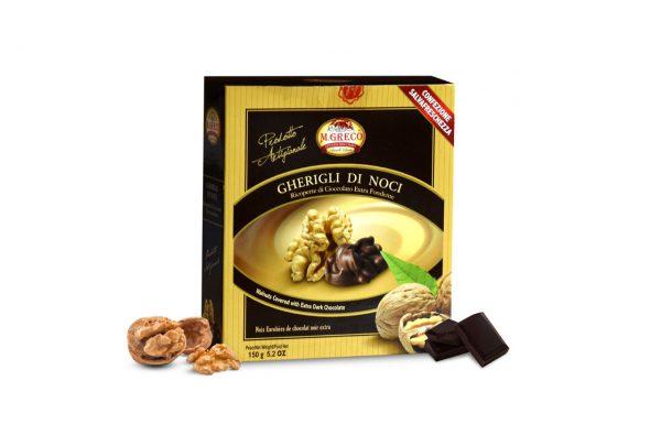Gherigli di Noci Ricoperti di Cioccolato Extra Fondente