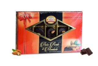 Pasta Reale di Mandorle Ricoperti di Cioccolato Extra Fondente