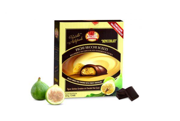 Fichi Secchi Scelti Ricoperti di Cioccolato Fondente Extra
