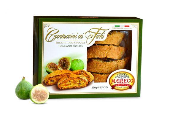 Cantuccini ai Fichi Biscotti Artigianali