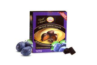 Prugne Denocciolate Ricoperte di Cioccolato Extra Fondente
