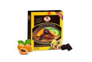 Albicocche Secche Ricoperte di Cioccolato Fondente Extra