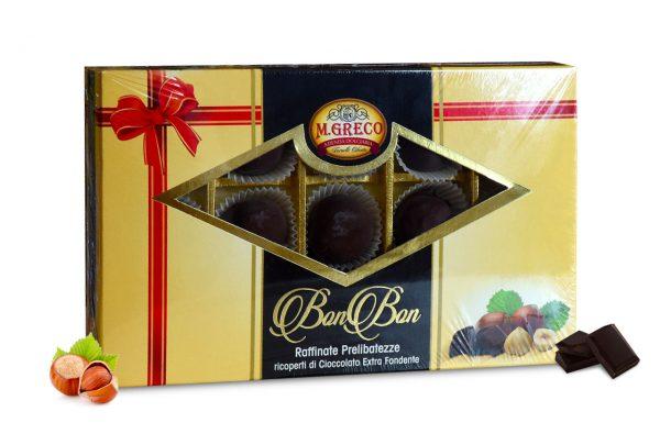 BonBon Raffinate Prelibatezze di Cioccolato Extra Fondente