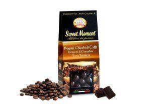 Pregiati Chicchi di Caffè Ricoperti di Cioccolato Extra Fondente